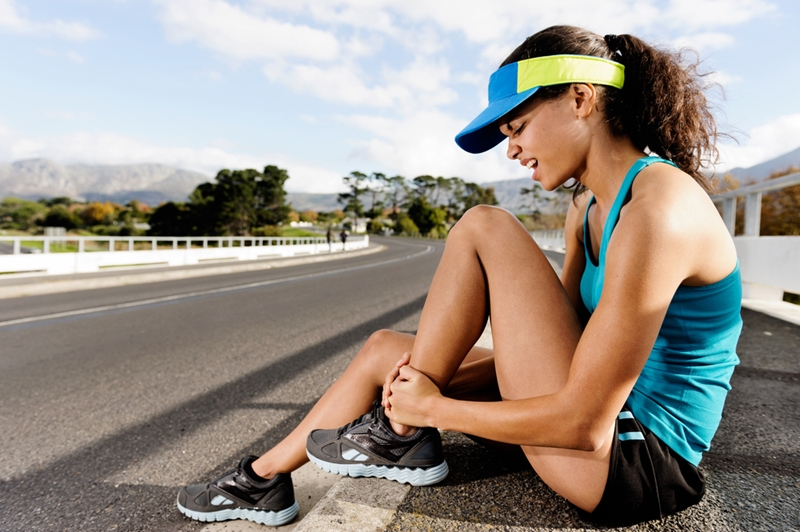 Sprains and twists are common in many summer sports.
