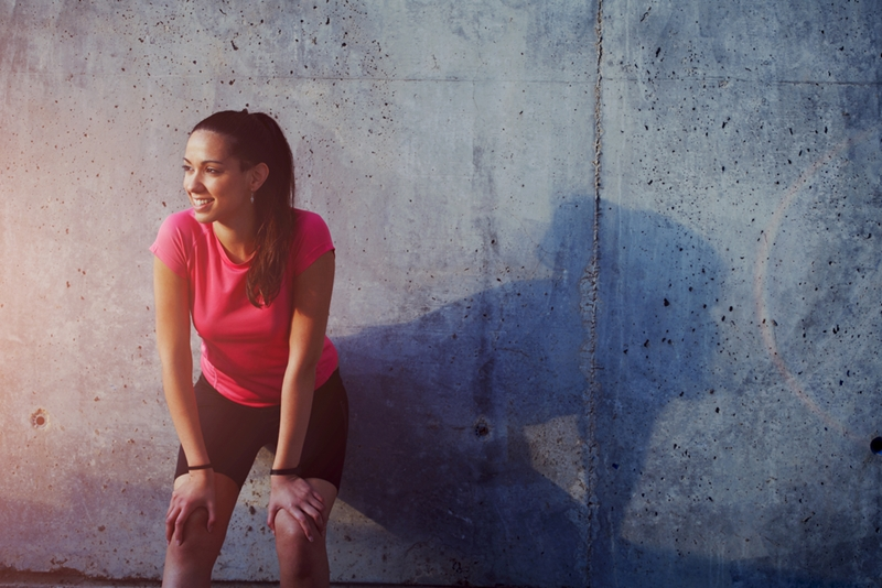 What should you do if you have back pain but want to jog?